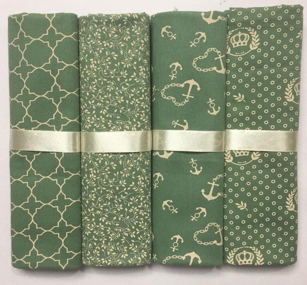 Kit Tricoline Compose Verde
