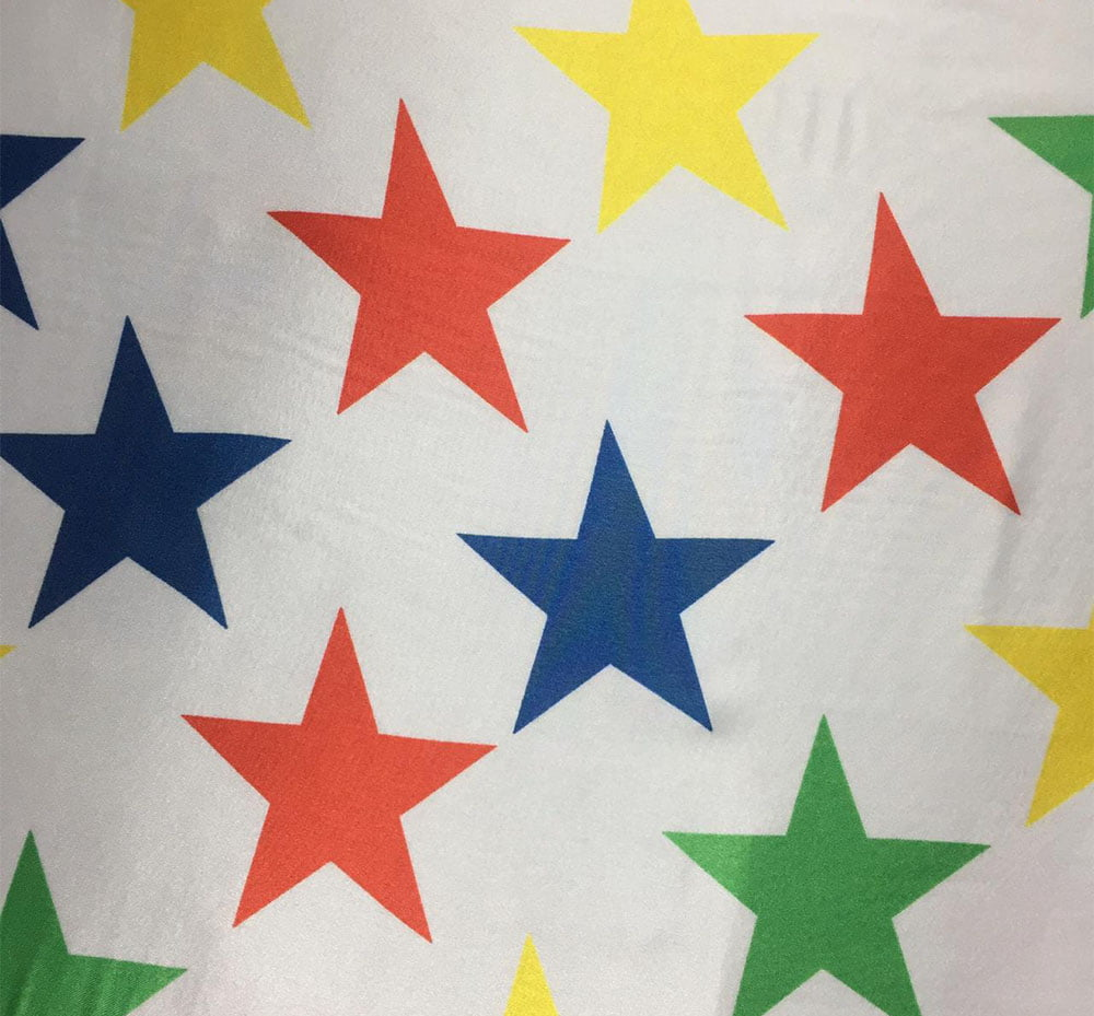 Cetim Estrela Colorida