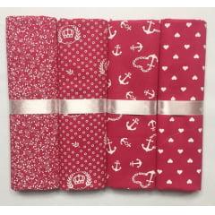 Kit Tricoline Compose Pink