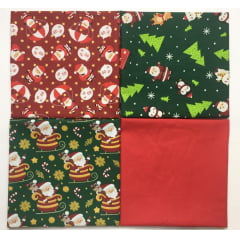 Kit Tricoline Papai Noel