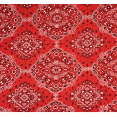 Tricoline Bandana Vermelha
