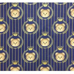 Tricoline Urso Rei