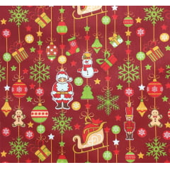 Tricoline Mobile Natal Vermelho