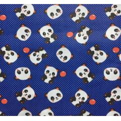 Tricoline Panda Balão Marinho