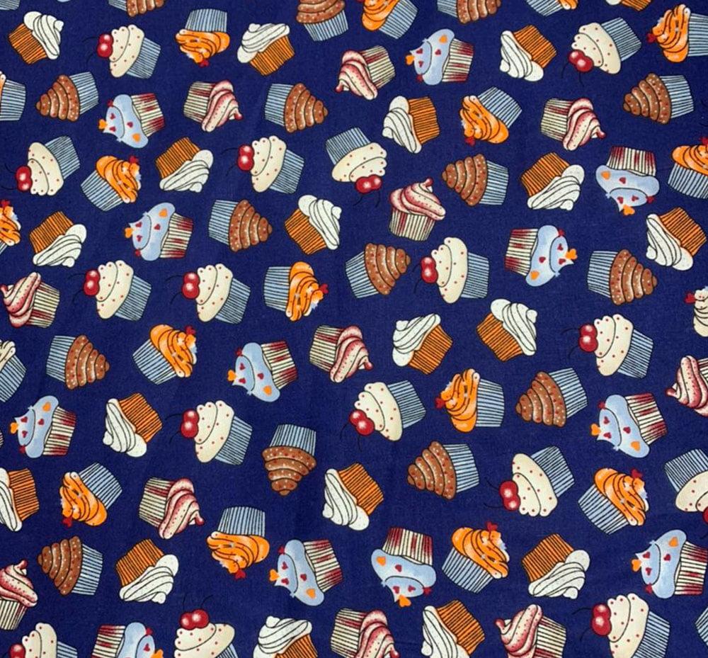 Tricoline Cupcake Marinho