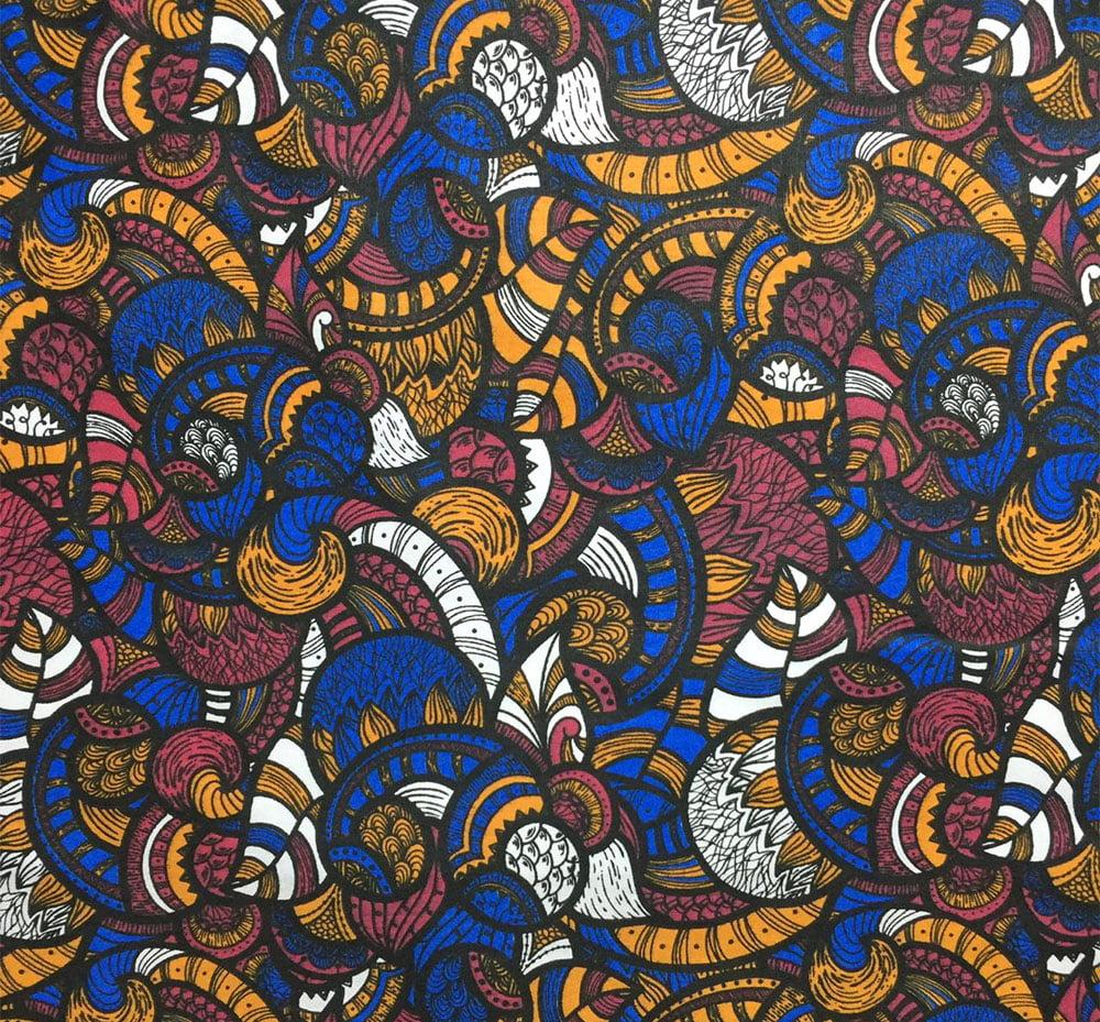 Tricoline Africa Azul